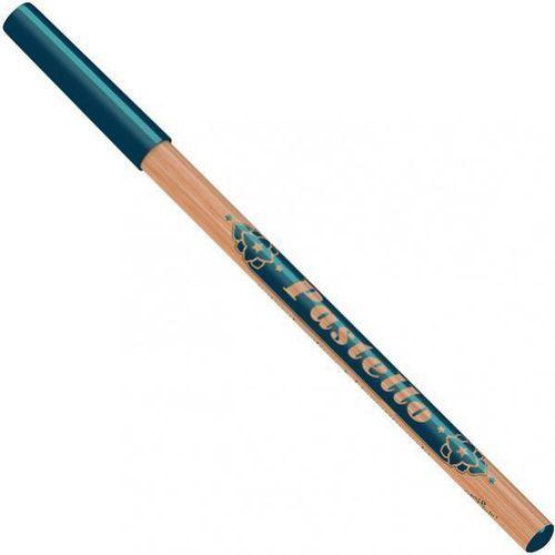Neve cosmetics Naturalna ciemnoniebieska kredka do oczu petrolio (wkład 1,5g) - ciemnoniebieski