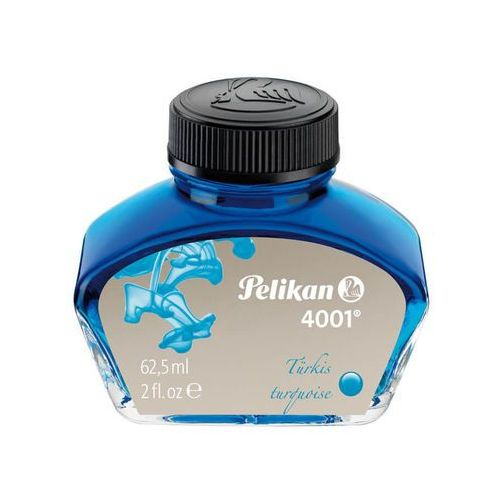 Atrament do pióra 4001 62,5ml turkusowy - turkusowy marki Pelikan