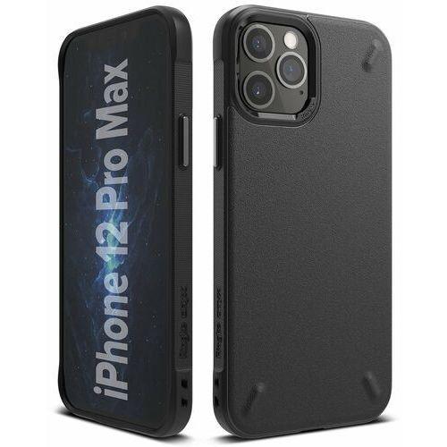 Ringke onyx wytrzymałe etui pokrowiec iphone 12 pro max czarny (oxap0023) - czarny (8809758101487)