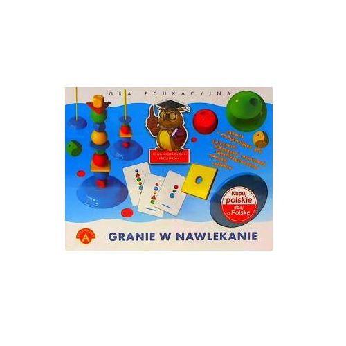 Granie w nawlekanie. gra edukacyjna marki Alexander
