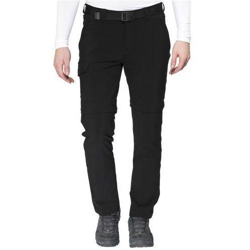 Maier Sports Torid Slim Spodnie długie Mężczyźni czarny 50 2018 Spodnie z odpinanymi nogawkami, kolor czarny