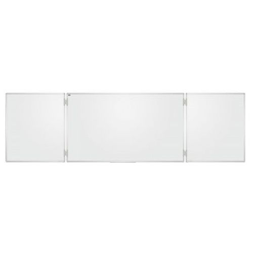Tablica szkolna Tryptyk biała gładka 170x100 /340x100, C-2X3-TRS1710