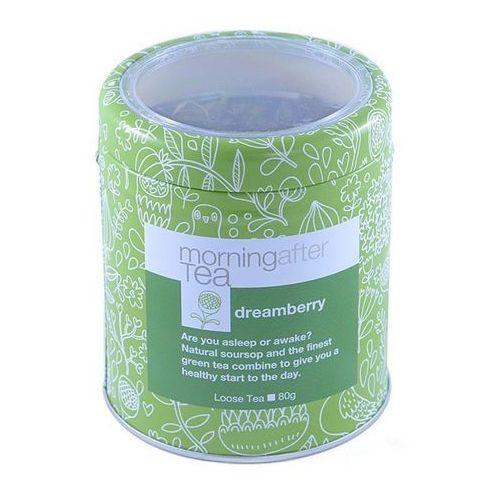 Zielona herbata  dreamberry z dodatkami - puszka 80g marki Vintage teas