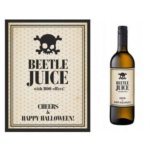 Etykiety na butelkę sok z żuka - beetle juice 10 szt. marki Party world