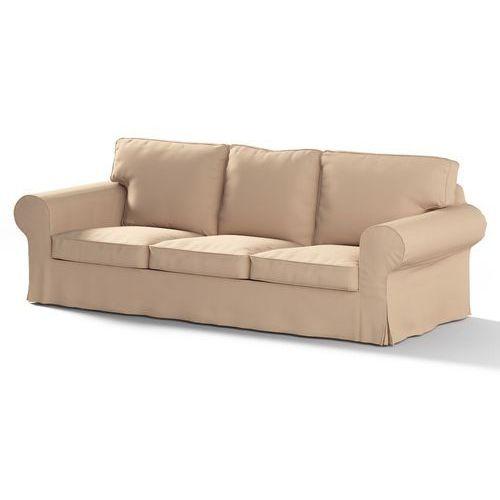 Dekoria Pokrowiec na sofę Ektorp 3-osobową, rozkładaną STARY MODEL Living 104-98, sofa Ektorp 3-osobowa rozkładana