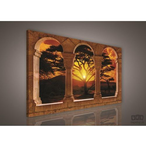 Obraz widok z tarasu na zachód słońca pp306o1 od producenta Consalnet
