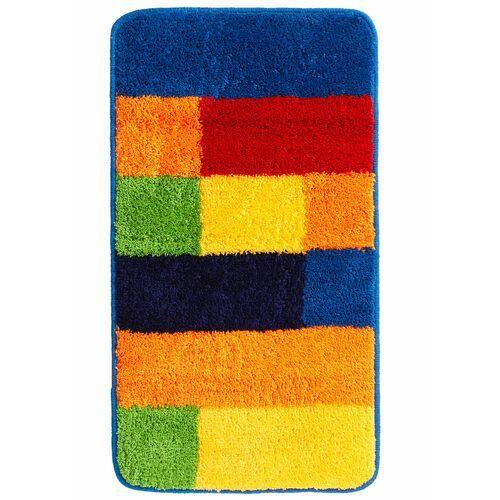 Dywaniki łazienkowe w kolorowy wzór bonprix kolorowy