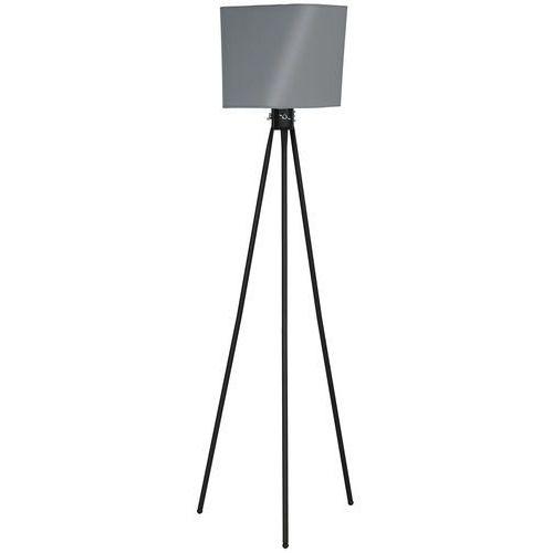 Lampa podłogowa Luminex Mirage 8908 lampa stojąca 1x60W E27 czarna / szara (5907565989083)