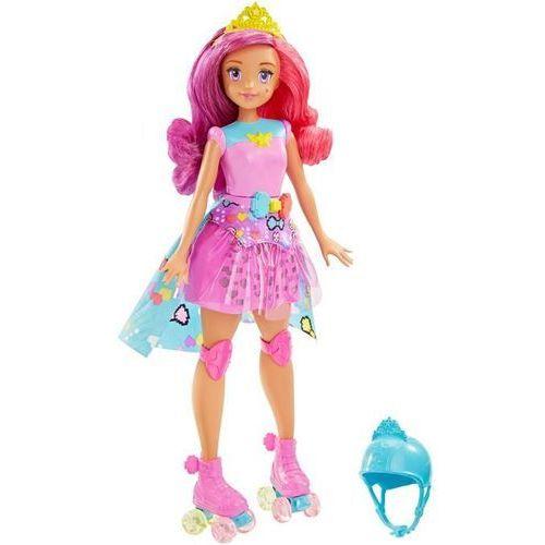 Mattel Barbie video game hero księżniczka z grą pamięciową izimarket.pl