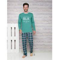 Taro leon 1173 aw/17 k2 zielona piżama męska