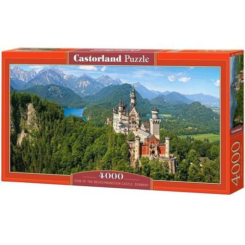 Puzzle Viev of the Neuschwanstein Castle Germany 4000 (5904438400218)
