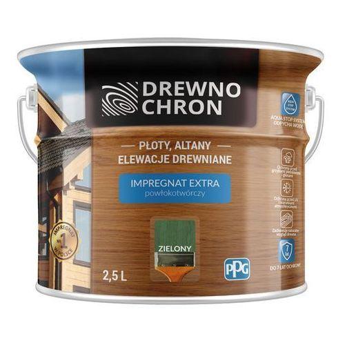 Impregnat Extra Powłokotwórczy Zielony 2,5L Drewnochron, 364425