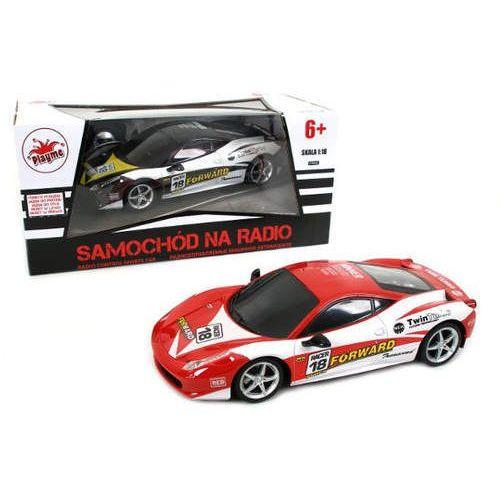 Samochód Ferrari zdalnie sterowany z ładowarką 1:18 (5907791569189)