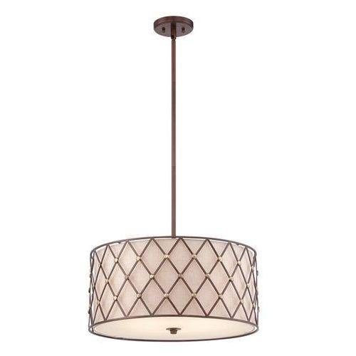 Lampa wisząca BROWN LATTICE QZ/BROWNLATT/P/L - Elstead Lighting - Rabat w koszyku, QZ/BROWNLATT/P/L