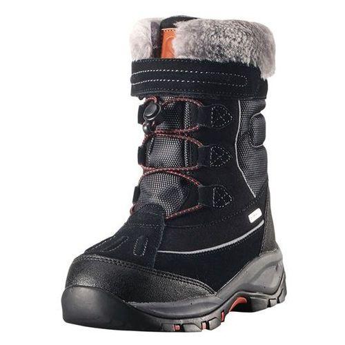 Reima Buty zimowe  reimatec® samoyed czarne (6416134743173)