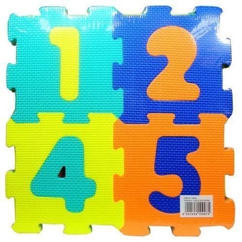 Puzzle SWEDE Podłogowe D103 Litery (36 elementów) (5902496109975)