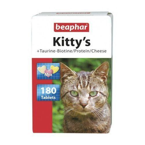 Beaphar Kitty's mix 180szt. - mix tabletek witaminowych taur.-biot/proteiny/ser dla kotów