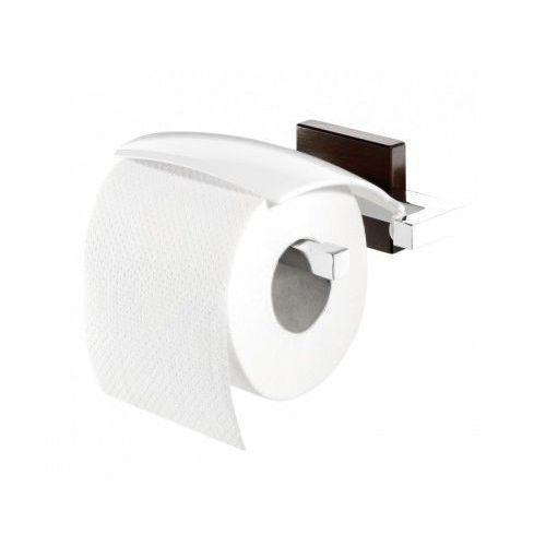 zenna wieszak na papier toaletowy chrom/wenge 3516.83 marki Tiger