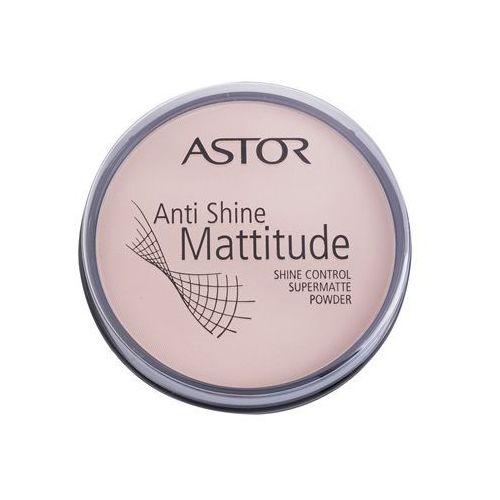 mattitude anti shine puder matujący odcień 001 ivory (supermatte powder) 14 g marki Astor