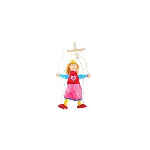 Small foot Kukiełka drewniana księżniczka dla dzieci