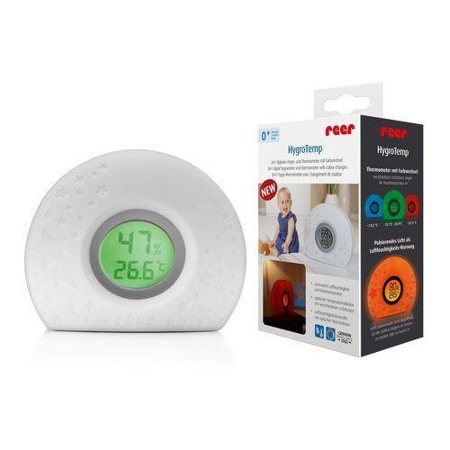 Termometr cyfrowy higrometr wilgotnościomierz REER (4013283940204)