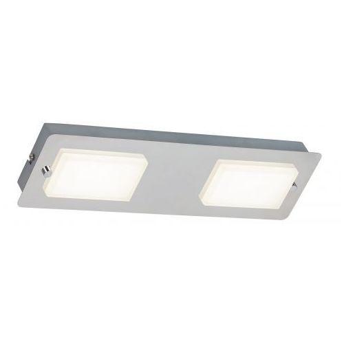 Rabalux Plafon lampa sufitowa ruben 2x4,5w led ip44 chrom 5723 (5998250357232)