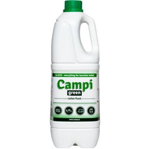 Aleco Campi green płyn do wc turystycznych przenośnych 2 l płyn do toalety toi toi, preparat do przenośnej kabiny wc