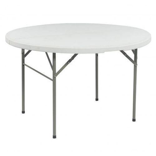 Pure garden & living Stół koktajlowy bankietowy wysoki 122x78cm biały dobrebaseny (4895141316402)