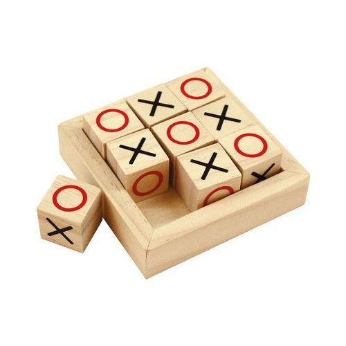 Bigjigs toys Mini kółko i krzyżyk drewniany (0691621009475)