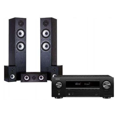 Kino domowe DENON AVR-X550BT + WILSON Cinematic Czarny (2900604824300)