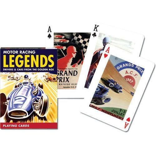 Karty do gry Piatnik 1 talia, Legendy Wyścigów