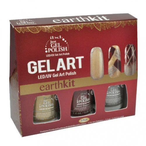 IBD Just Gel Polish ART EARTH KIT - do zdobień - ART EARTH KIT - do zdobień