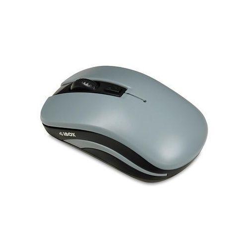 Mysz bezprzewodowa iBOX Loriini Black optyczna szaro-czarna (5901443052043)