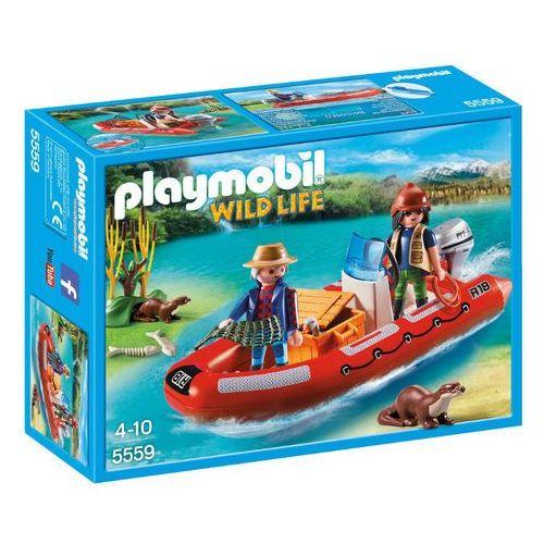 Playmobil WILD LIFE Łódź pontonowa z kłusownikami 5559 wyprzedaż