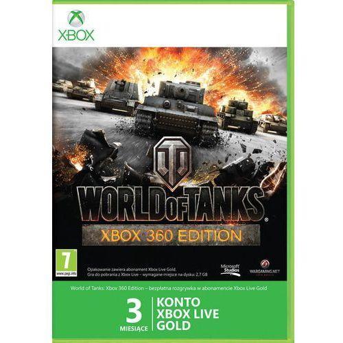 Subskrypcja Xbox Live Gold World of Tanks (3 m-ce karta zdrapka) z kategorii Kody i karty pre-paid