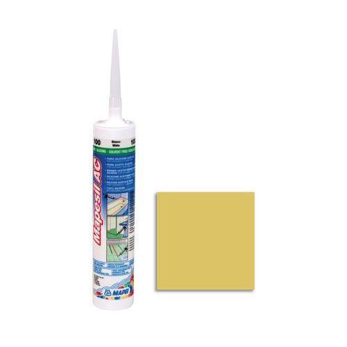 Mapei Silikon sanitarny mapesil ac 150 żółty