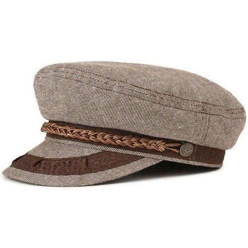 Brixton Czapka z daszkiem - athens cap brown/white (brwht) rozmiar: xs