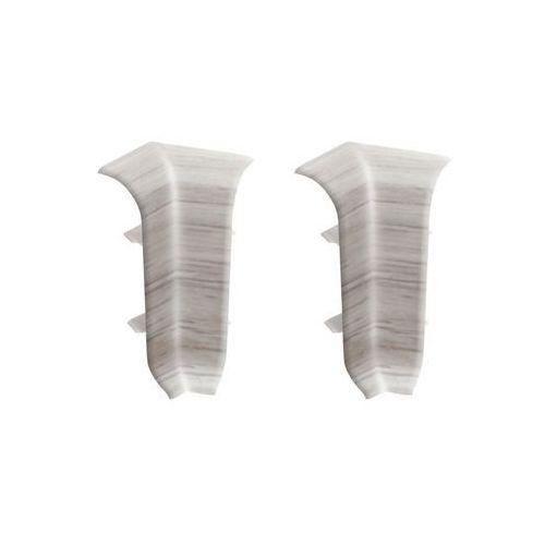 Ergo Narożnik wewnętrzny do listwy przypodłogowej 56 dąb sedański 2 szt. (5902537596559)