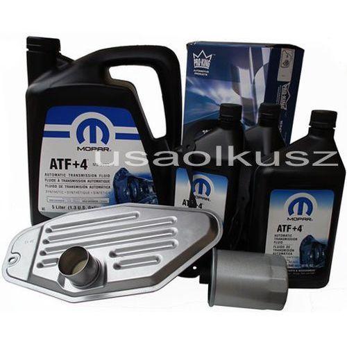 Olej MOPAR ATF+4 oraz filtry skrzyni biegów Dodge Durango AWD 2000-2009, towar z kategorii: Oleje przekładniowe