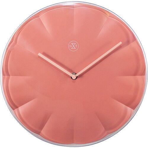 Zegar ścienny sweet koralowy marki Nextime