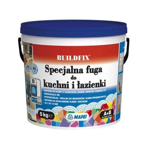 Zaprawa Mapei Buildfix do kuchni i łazienki 112 tytanowa 5 kg (8022452036422)