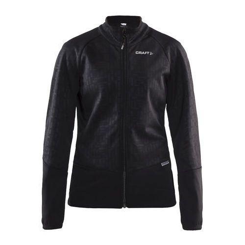 rime 1905444-999000 damska softshellowa kurtka rowerowa czarna marki Craft