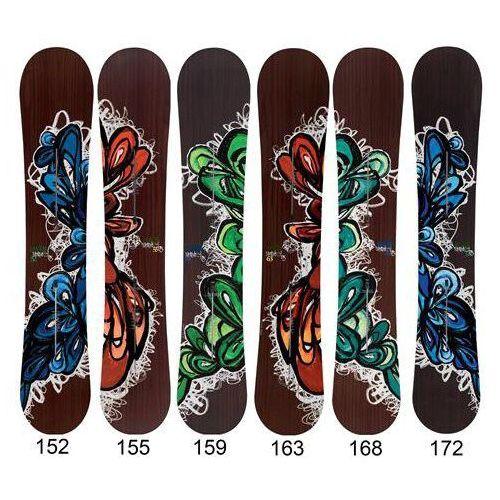 snowboard BURTON - Supermodel (NO COLOR) rozmiar: 159