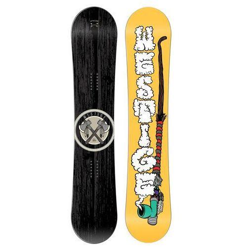 Westige deska snowboardowa apache w black/yellow 164