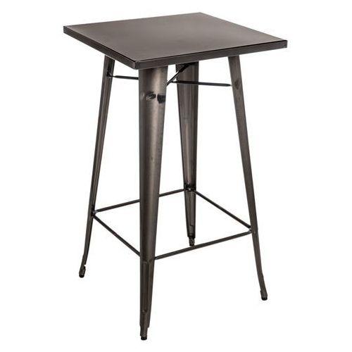 Stół barowy Paris metaliczny D2.DESIGN, 5902385707138