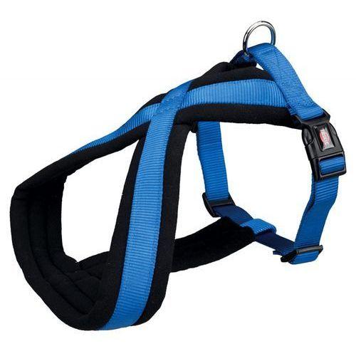 Trixie uprząż premium ( m ) 45 - 70 cm / 25 mm niebieski - darmowa dostawa od 95 zł!