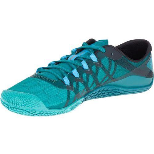 Merrell Vapor Glove 3 Buty do biegania Mężczyźni turkusowy UK 12 | 47 2018 Buty Barefoot i buty minimalistyczne (0801100674678)
