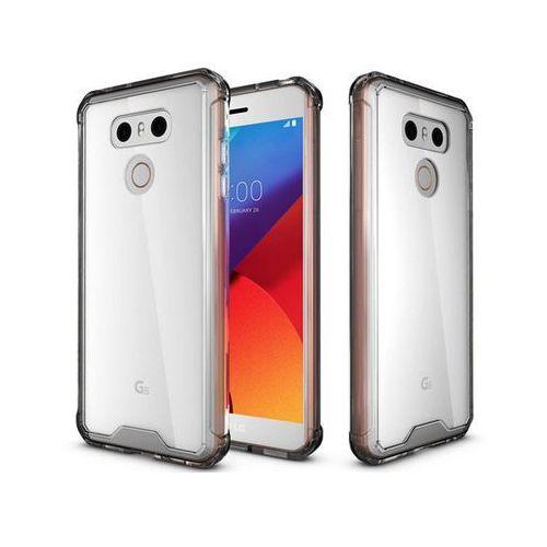 Etui Alogy Slim case do LG G6 Czarne + Szkło - Czarny, kolor czarny