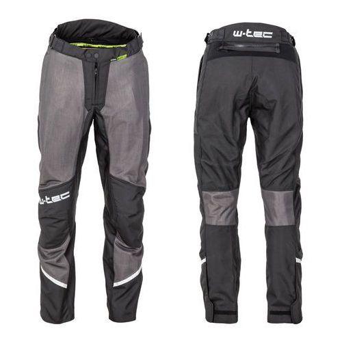 W-tec Męskie letnie spodnie motocyklowe alquizar, czarno-szary, l