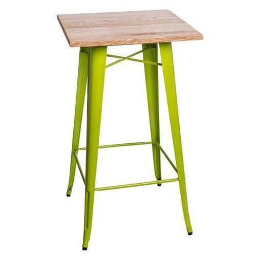 Stół barowy Paris Wood j. zielony jesion D2.DESIGN